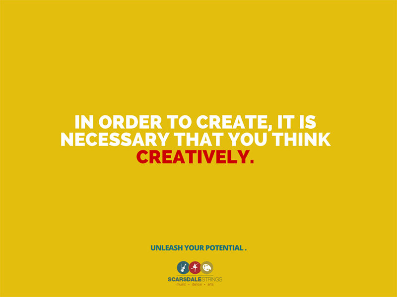Creativity in children, foster your creativity